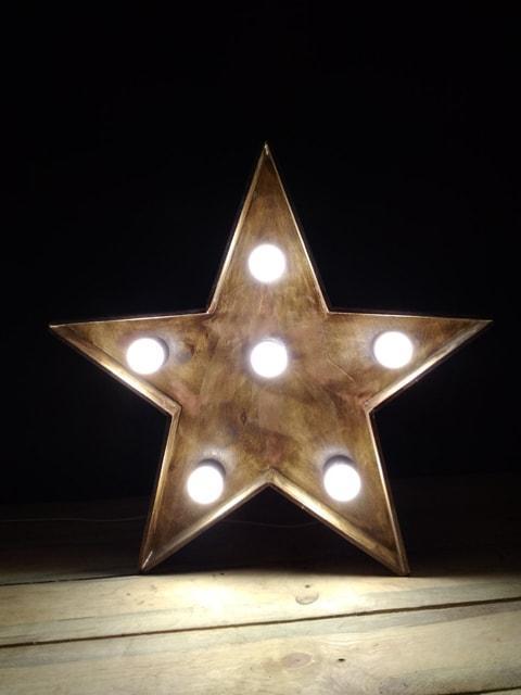 Декорация для фотозоны Звезда с подсветкой (411.01)