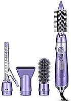 Профессиональный фен Shinon SH-9822 7 в 1 900W Perl Purple (3793)