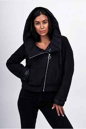 Демісезонна куртка жіноча Freever GF 79105 чорна, фото 2