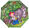 Облегченный детский зонт-трость механический ZEST (ЗЕСТ) Z21565-1 Красная шапочка