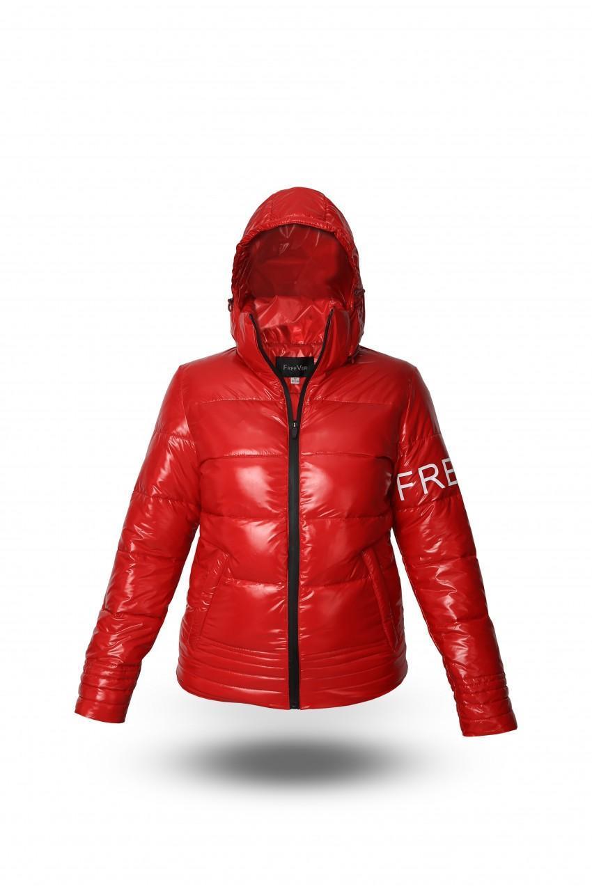 Демисезонная куртка женская Freever GF 8508 красная