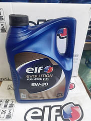Моторное масло Elf Evolution Full-Tech FE 5W-30 (5л)