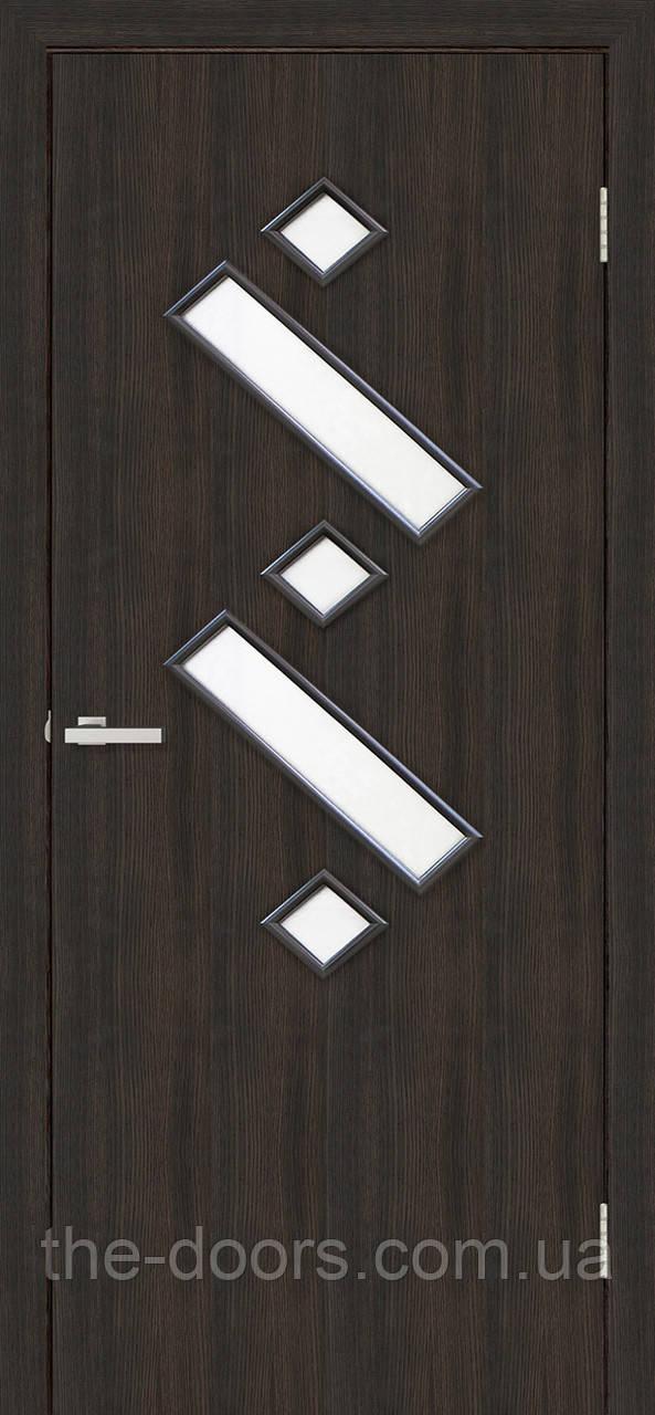 Двери межкомнатные ОМиС Танго 2 стекло сатин