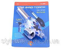 Автоматичний газовий пальник Fire Bird Torch FK-888 (синій, хакі)