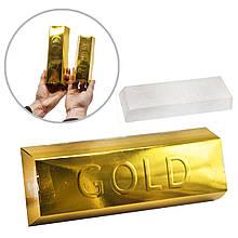 Набор для проведения раскопок Золотой слиток большой Dankotoys