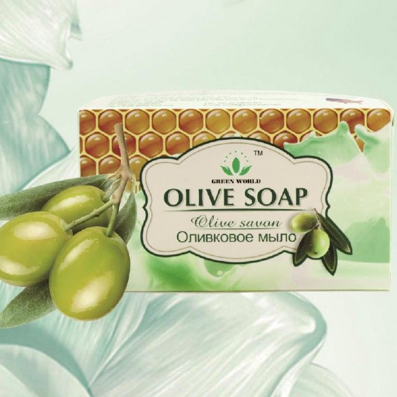 Оливковое мыло - Green World
