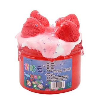 DIY Strawberry Boom  / DIY Клубничный Бум слайм 300 мл