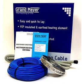 Двожильний нагрівальний кабель в стяжку Grand Meyer 1,5 - 2,5 кв.м