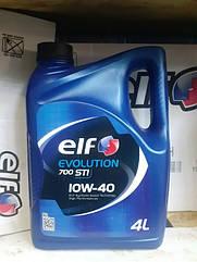 Полусинтетическое моторное масло Elf EVOLUTION 700 STI 10w-40 4L.