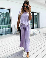 Красивое женское летнее платье с натуральной ткани