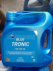Напівсинтетичне моторне масло Aral Blue Tronic 10w-40 (4л)
