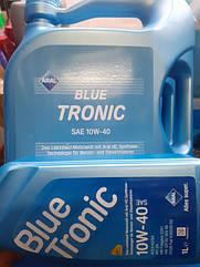Полусинтетическое моторное  масло Aral 10w-40 Blue tronic5L.