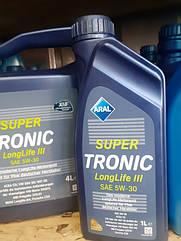 Синтетическое моторное масло Aral SuperTronic LongLife III 5w-30 1л