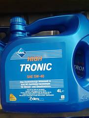 Синтетическое моторное масло Aral High Tronic 5w-40 4л.