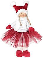 М'яка іграшка «Дівча в юбчонке» Bordo 20х12х38см