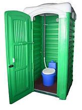 Туалетная кабинка з торфяним биотуалетом TKU