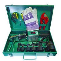 Паяльник PPR 1,6 кВт (в компл. ножницы,перчатки, рулетка) для ППР d20-63