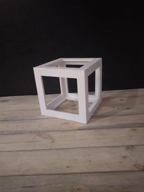Декорация для фотозоны Куб пустотелый (413.01)