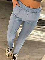 Женские классические брюки Голубые, фото 1