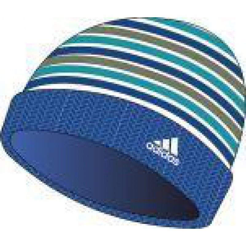 Шапка детская Adidas Stripy woolie bluebeaut