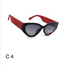 Женские солнцезащитные очки. Новинка 2021,  полароид, черные