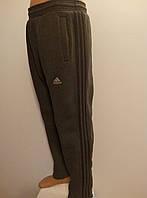 Зимние спортивные штаны мужские с лампасами трехнитка размер норма карман листочка