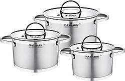 Набор посуды Maxmark Pro 6 предметов (MK-FL3306H)