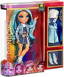 УЦЕНКА! Синяя кукла Rainbow High Скайлар Skyler Bradshaw Blue Clothes - Рейнбоу Хай Скайлер Бредшоу 569633, фото 8
