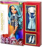 УЦЕНКА! Синяя кукла Rainbow High Скайлар Skyler Bradshaw Blue Clothes - Рейнбоу Хай Скайлер Бредшоу 569633, фото 9