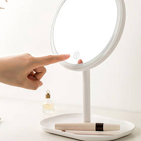 Дзеркало для макіяжу Xiaomi Jordan Judy NV529 LED Makeup Mirror /2-in-1/