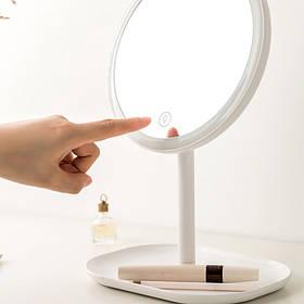 Зеркало для макияжа Xiaomi Jordan Judy NV529 LED Makeup Mirror /2-in-1/