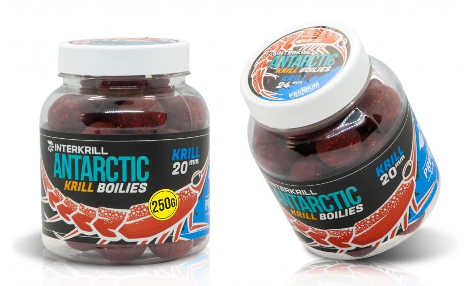 """Бойлы вареные насадочные """"KRILL""""/ Antarctic Krill Boilies """"KRILL"""", 250г"""