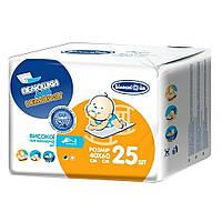 Одноразовые пеленки для младенцев 60х40 см Белоснежка 25 шт. (4820180242818)