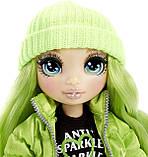 УЦЕНКА! Зеленая кукла Rainbow High Jade Hunter Green Clothes Fashion Doll - Рейнбоу Хай Джейд Хантер 569664, фото 5