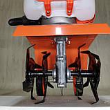 Культиватор Бензиновий мотокультиватор Forte МКБ-25 LUX з виносним повітряним фільтром, фото 4