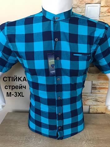 Сорочка з коротким рукавом Torres в клітинку, фото 2