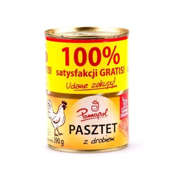 Паштет курячий Pamapol, 390г (Польща)