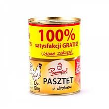 Паштет куриный Pamapol, 390г (Польша)