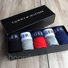 Комплект чоловічих трусів Tommy Hilfiger 5 штук, фото 2