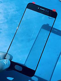 Стекло корпуса для Meizu Pro 6 черное (оригинал Китай)