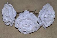 Шпильки для волос - цветы (30 шт), фото 1