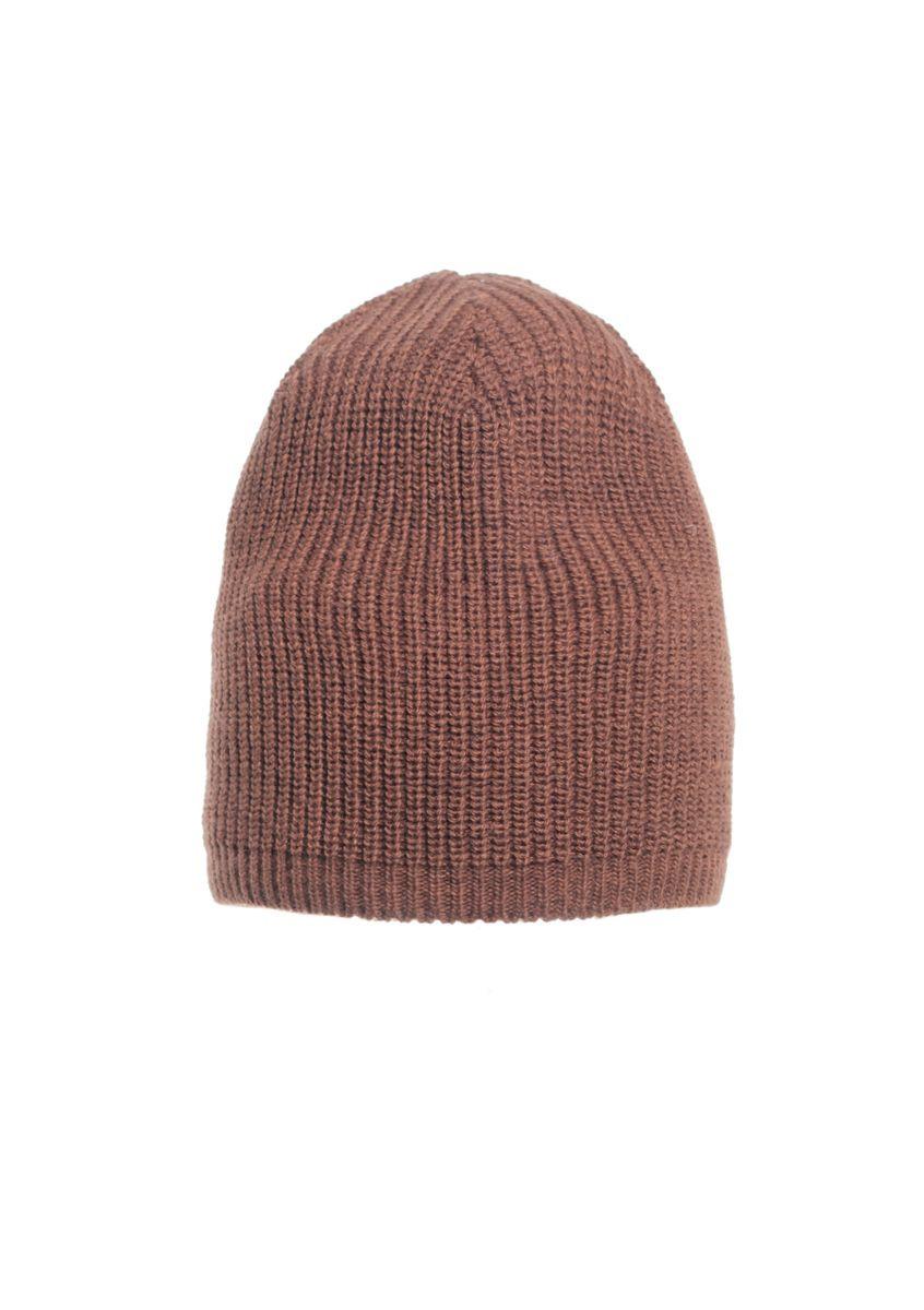 Теплая качественная и практичная вязаная мужская шапка.