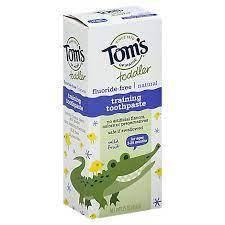 Tom's of Maine Toddler Training зубна паста безпечна для ковтання для самих маленьких 50 гр