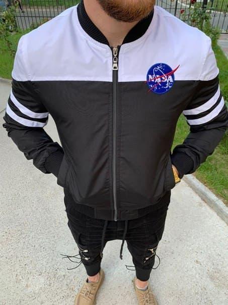 Мужская куртка-бомбер NASA Турция (два цвета)