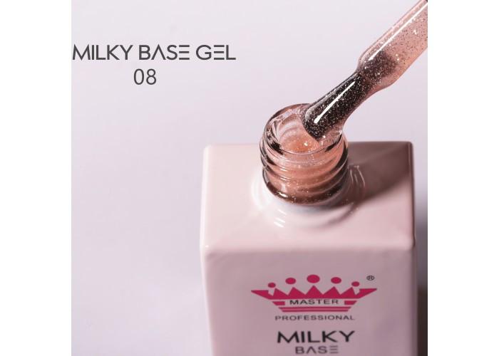 Milky База Гель 10мл №008 Master Profession