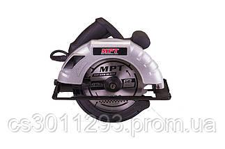 Пила дисковая MPT - 1200Вт x 185 мм, фото 2