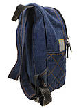 Джинсовый рюкзак Донецк, фото 3