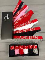 Різнокольоровий набір жіночої білизни стринги City з 6 штук, фото 1