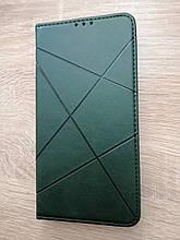 Чехол-книжка для Oppo A12 Business Green