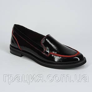 Стильные женские кожаные туфли, мягкие, удобные